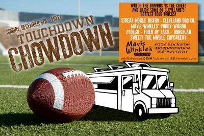 Food Truck Touchdown Chowdown