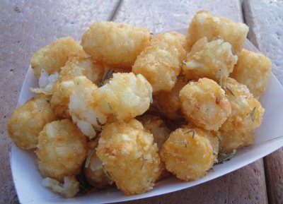 The Nosh Box - Tater Tots With Rosemary and Sea Salt